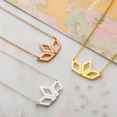 Lotus Deco Necklace
