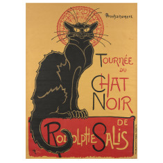 IXXI le chat noir wall art
