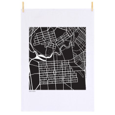 Adelaide tea towel