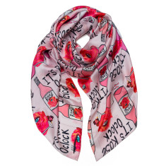 It's rose O'clock scarf