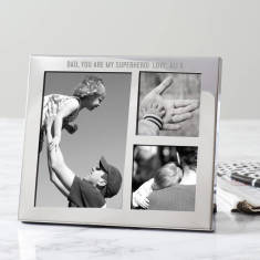 Personalised Multi Frame Trio For Dad