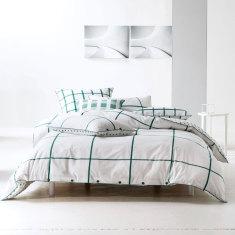 Larsen emerald quilt cover set