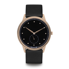 Hypergrand signature watch in rose gold black