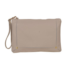 Amy Beige Clutch Bag