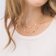Personalised Initial Pastille Necklace