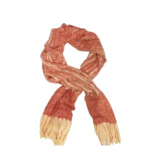 My Dreamscape Scarf: Terracotta and Cream