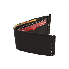 Fold on Flinders black wallet