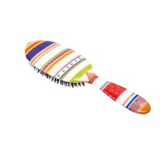 Rock & Ruddle hair brush in folio stripe