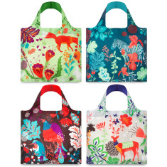 LOQI reusable bag in forest collection