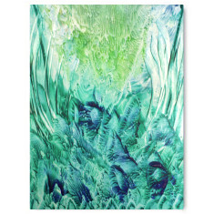 Forever green ready to hang canvas art