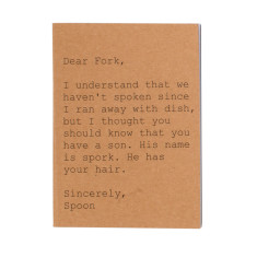 Dear fork A6 notebook