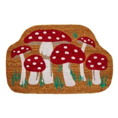 Mushroom door mat