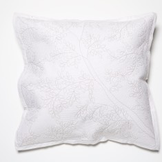 Four Seasons white European pillowcase