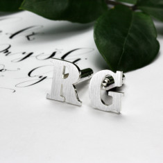 Personalised Monogrammed Cufflinks