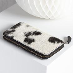 Cow Hide clutch bag