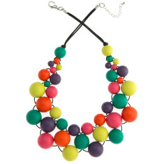 Paradiso party bubble necklace
