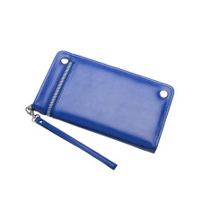 Sybella Leather Wallet / Travel Wallet (Sapphire)