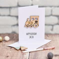 Personalised Kids' Keepsake Card