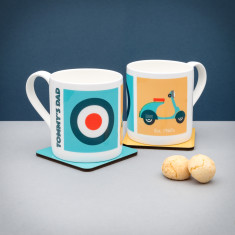 Personalised Mods (Est 1960's) Mug