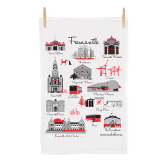 Fremantle icon tea towel