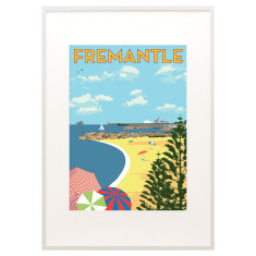 Fremantle south beach print