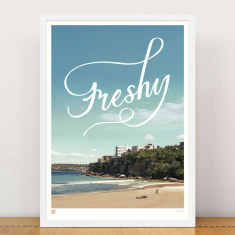 Freshy limited edition print