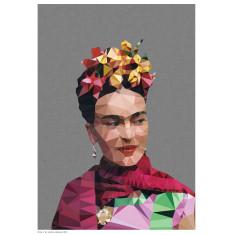 Geometric Frida 4 print
