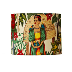 Frida Kahlo garden lampshade