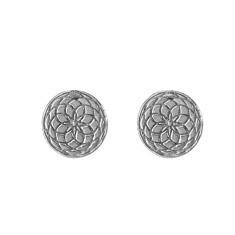 Frida stud earrings in silver