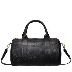 Kingdoms and Oaths leather handbag in black