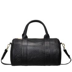 Kingdoms and Oaths leather handbag in black