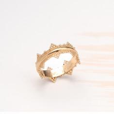 Personalised Crown Ring