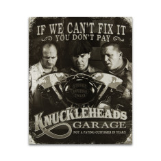Stooges - Knuckleheads Sign