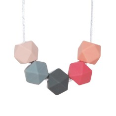 Fruits of the forest geo necklace