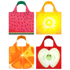 LOQI reuseable bag fruitti collection