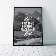 Beautiful Place Wall Art Print