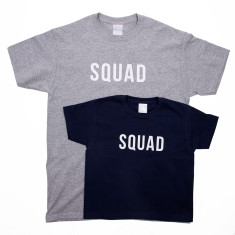 Dad And Me Squad T Shirt Set
