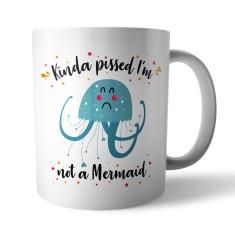 Jellyfish Mermaid! Ceramic Mug