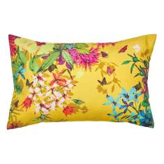 Tropicana gold cushion