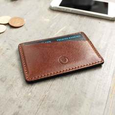 The Alberi Leather Card Holder