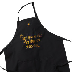 Wine Lover Apron - Once Upon A Wine...