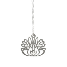 Folk Flower Pendant