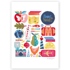 Food & travel print