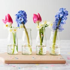 Personalised 'Baby' Stars Bottle Vases