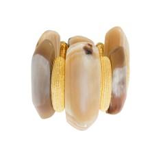 Ife horn bracelet