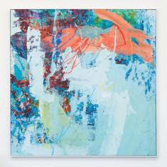 Aquatic dream framed canvas