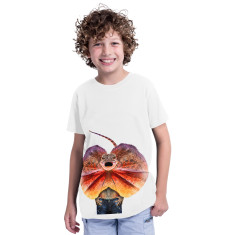 Frill Neck Lizard kid's tee