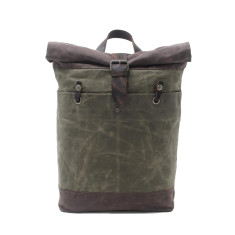 Canvas Backpack Waterproof Laptop Bags