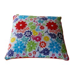 Funky flower cushion with insert