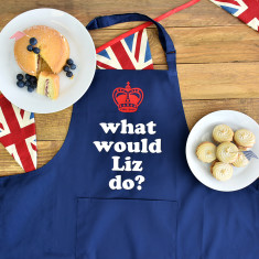 What Would Liz Do? Queen Elizabeth II's 90th Birthday Apron